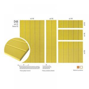 Imitácia drevenných dvierok, D48 | VHprodukt
