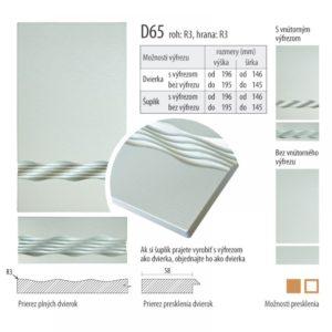 Dvierka s vlnkou, D65 | VHprodukt