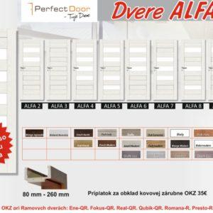 Interiérové dvere ALFA | VHprodukt