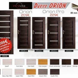 Interiérové dvere ORION | VHprodukt