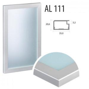 Dvierka hliníkové, 111 komplet | VHprodukt