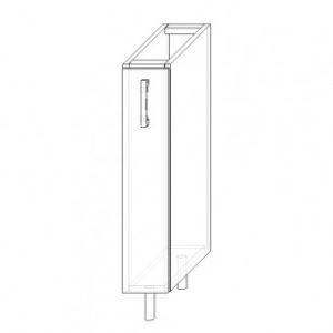 1/A skrinka spodná 1-dverová 150 bez výs.