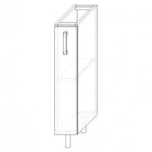 1. S15 – skrinka spodná 1-dverová 150