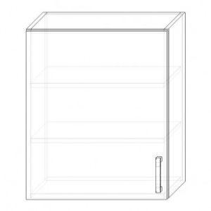 71/A skrinka horná 1-dverová 600 P+L